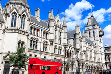 The Exterior Of Royal Courts O...