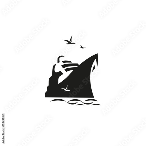 Photo Nautical symbol concept