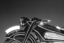 Classic Vintage Retro Car Detail Photo