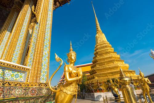 In de dag Temple Royal grand palace temple emerald architecture at bangkok