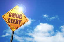 Smog Alert, 3D Rendering, Traf...