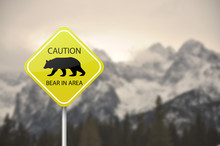 Yellow Warning Sign Board - Ca...