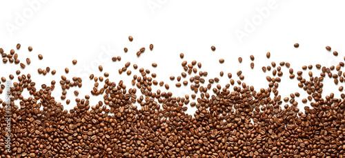 Poster Café en grains Frame of coffee beans