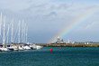 Rainbow in the Howth.