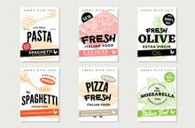 Hand Drawn Italian Food Brochu...