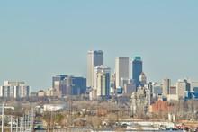 Downtown Tulsa, Oklahoma Skyline