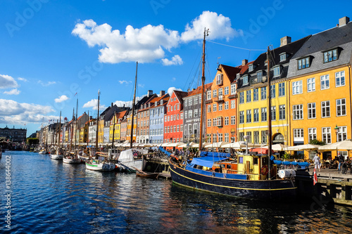 Copenhagen  is the capital and most populous city of Denmark Poster