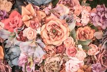 Flower Background - Vintage Ef...