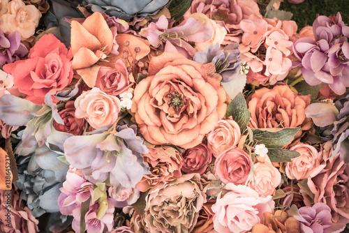 Flower background - vintage...