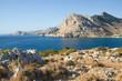 Rhodes Island, Greece. Coastline between Kolymbia and Stegna.