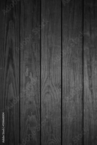 Fototapeta Dunkelgraue Holzbretter hochkant obraz na płótnie