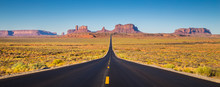 Monument Valley With U.S. High...
