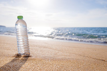 Bottle On The Beach.