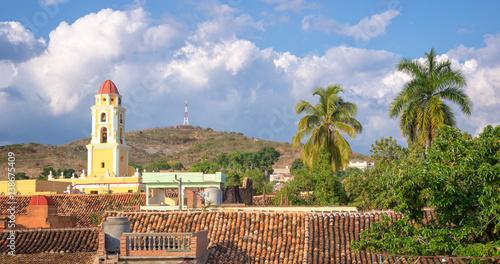 Photo  Aerial view of Trinidad, Cuba