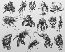 Creature Concept Design