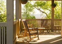Morning Sun Marsh Home Porch N...
