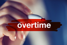 Overtime Business Concept