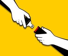 Hands Locking Safety Belt