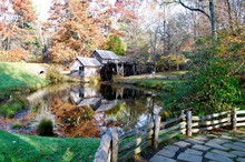 Mabry Mill On The Blue Ridge P...