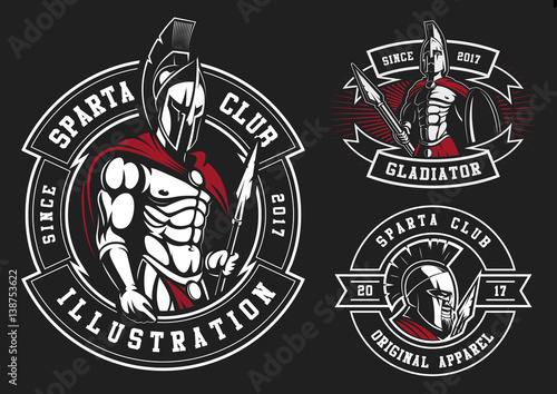 Foto  Set Gladiatoren