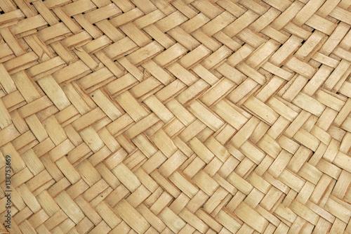 Fotografiet  woven straw