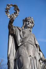 Denkmal Für Die Volkskämpfer Von 1849 Auf Dem Friedhof Zu Kirchheimbolanden, Deutschland