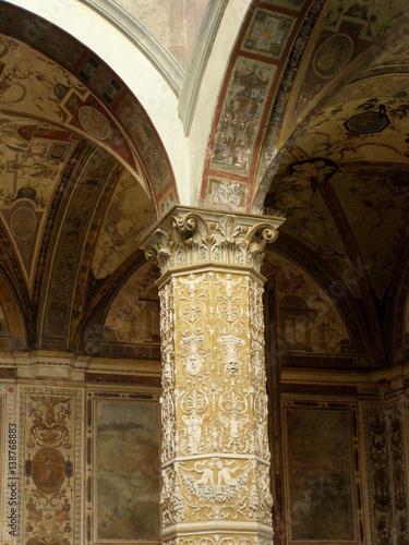 Naklejka premium Renesansowe sklepienie, Florencja