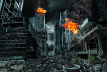 Cinematic Portrayal Of Destroy...