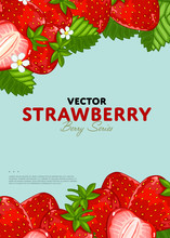 Organic Berry Banner With Juic...