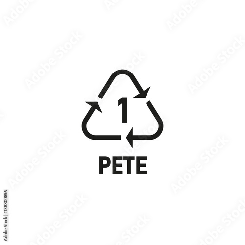 Photo  Packaging symbol isolated on white background vector illustration