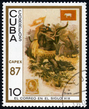 UKRAINE - CIRCA 2017: A Stamp ...