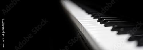 Cuadros en Lienzo  Piano and Piano keyboard