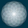 Flower of Life. Sacred Geometry.
