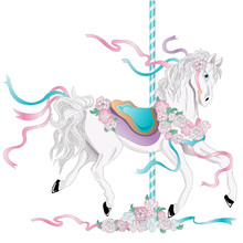 Carousel Horse, Marry-go-round Horse