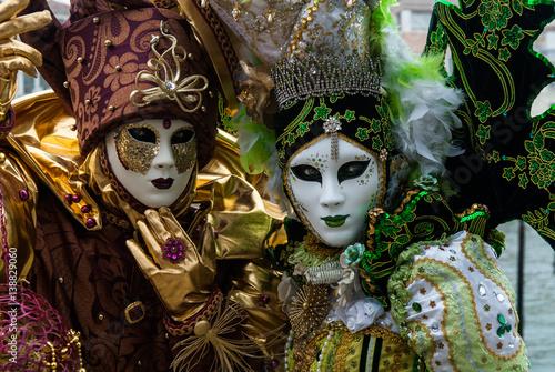 Carnaval de venise photo masque