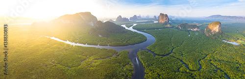 Photo  BIRD EYE VIEW OF THAILAND