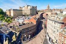Aerial View Of Newcastle's Qua...