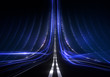 Digitale Daten-Autobahn