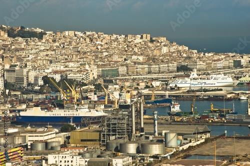 Wall Murals Algeria Port d'Alger