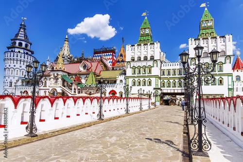 Obraz na plátně Izmailovo Kremlin in Moscow, Russia