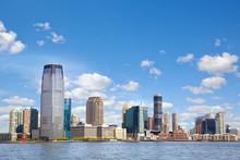 New Jersey Skyline Over Hudson...