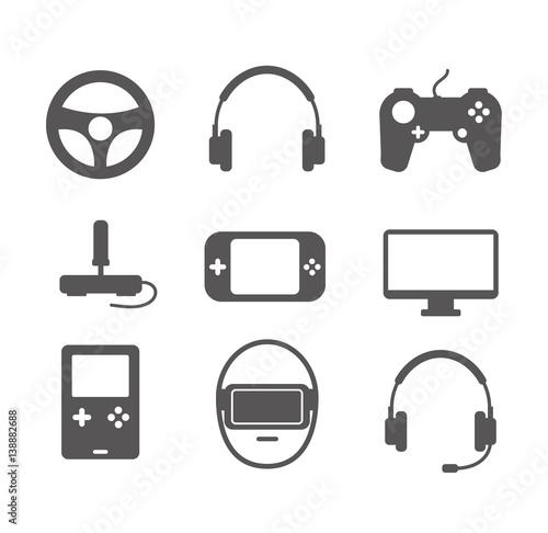 Photo  Gaming icons