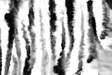 Watercolor Zebra Skin Pattern