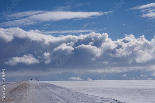 Foto auf Gartenposter Antarktika sky horizon