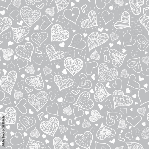 vector-silver-grey-doodle-hearts-seamless-pattern-design-perfect-for-valentine-s-day-cards-fabric-scrapbooking-wallpaper
