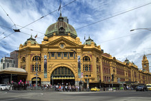 Flinders Street Railway Statio...