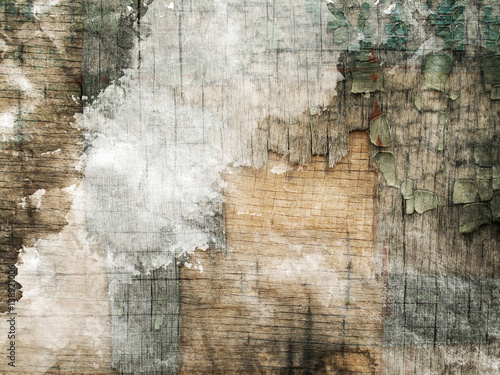Plakat Grunge papierowa tekstura, tło. Akwarela. Aquarelle. Kolorowe teksturowane tło