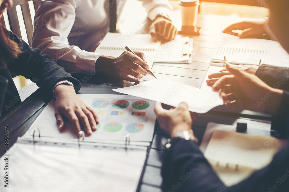 Fototapeta Business meeting