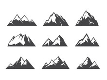 Vector Design Of Moutain Graphic