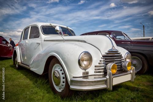 Poster  vintage transport retro car